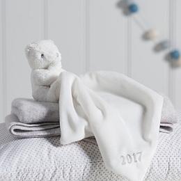 2017 Dated Bear Comforter