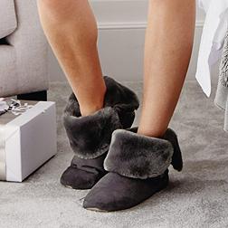 Double Fold Down Boots - Dusk