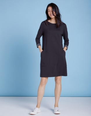 Double Faced Pocket Dress