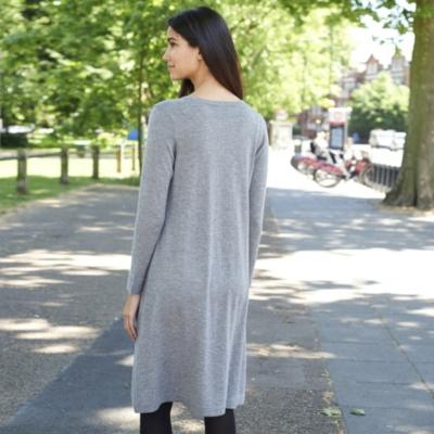 Diagonal Rib Dress