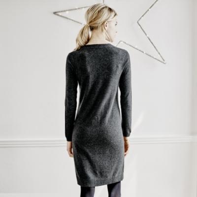Diagonal Stitch Dress