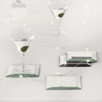Art Deco Mirrored Coaster - Set of 4