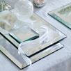 Art Deco Mirrored Placemat Set of 2