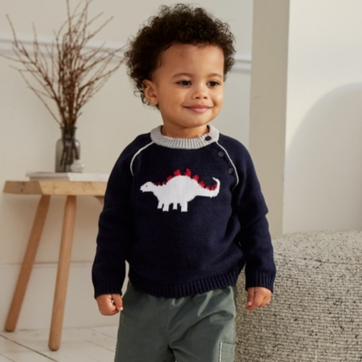 Dinosaur Sweater - The White Company