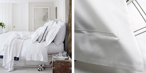 Dulwich Bed Linen - White