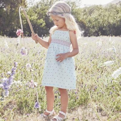 Smocked Dobby Dress (1-5yrs)