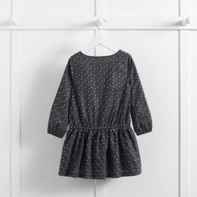 Dotty Pintuck Dress