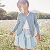 Smocked Dobby Skirt (1-5yrs)
