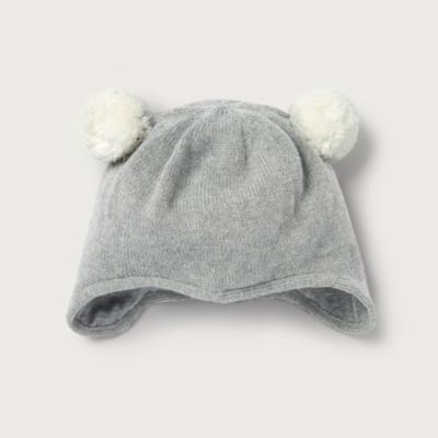 Double Pom-Pom Hat - The White Company