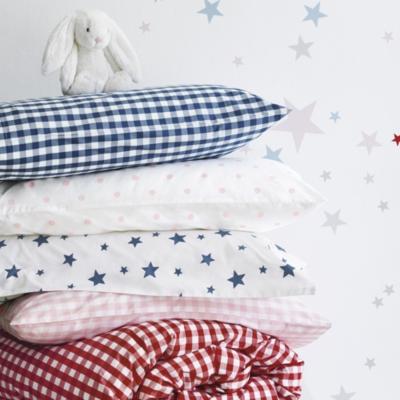 Chalk Pink Dot Print Bed Linen Set