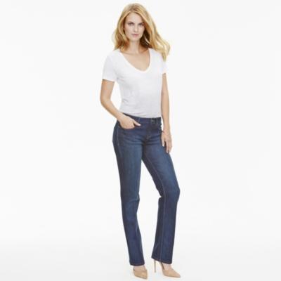 Dip Dye Linen T-Shirt - White Gray