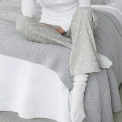 Heart Print Pajama Bottoms