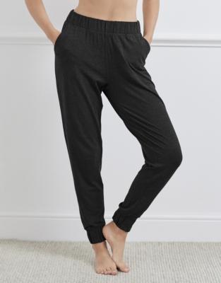 Deep Waistband Pull-On Pants