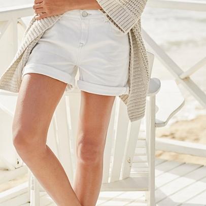 Denim Shorts | The White Company UK