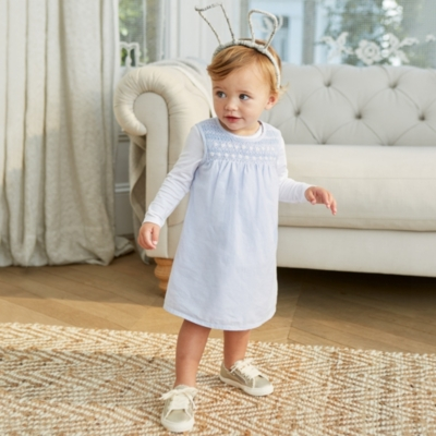 Daisy Embroidered Dress & Bodysuit - The White Company
