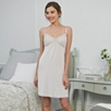 Dot & Lace Nightdress - Ash Rose