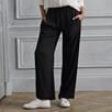 Wide Leg Draped Pants