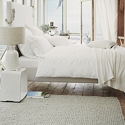 Dulwich Bed - White & Pebble