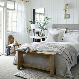Dulwich Bed - Light Grey