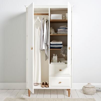 Ercol Devon Wardrobe Bedroom Furniture The White Company Uk