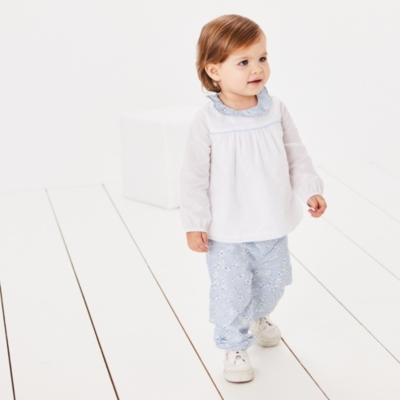 Daisy Print Top & Pants Set - The White Company