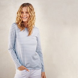 Essential Breton Stripe T-Shirt - Blue Stripe