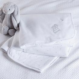 Sleepy Elephant Baby Blanket