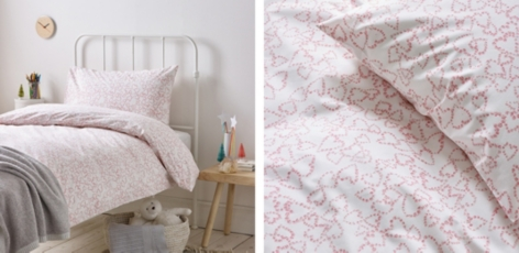 Heart Wreath Easy Care Bed Linen