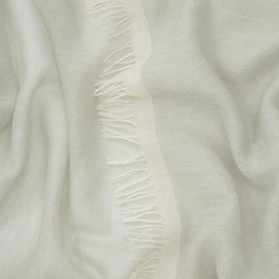 Cashmere Edge Detail Scarf