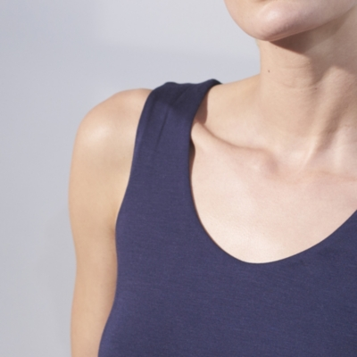 Essential Double Layer Vest - French Navy