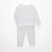 Sea Dog Baby Pajamas - White