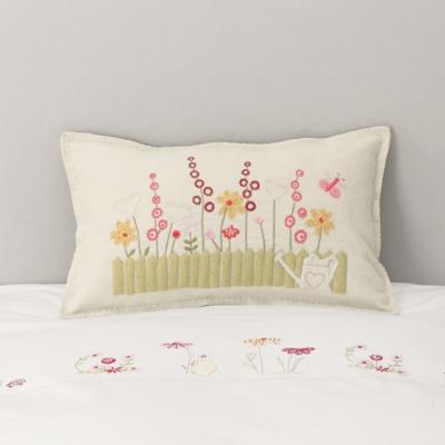 English Garden Felt Cushion Cover