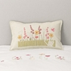 English Garden Felt Cushion Cover