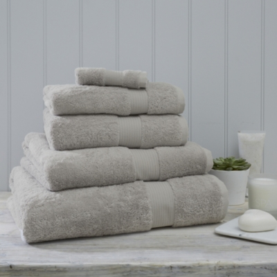 Luxury Egyptian Cotton Towels  - Pearl Gray