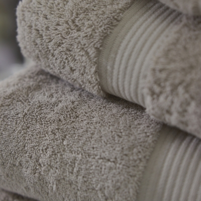 Luxury Egyptian Cotton Towels  - Pebble
