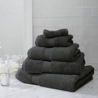 Luxury Egyptian Cotton Towels  - Shale