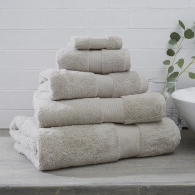 Luxury Egyptian Cotton Towels  - Stone