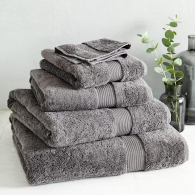 Luxury Egyptian Cotton Towels - Slate