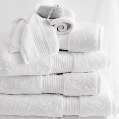 Egyptian Cotton Towels - White