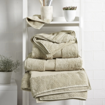 Egyptian Cotton Towels - Stone
