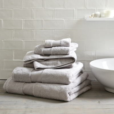 Egyptian Cotton Towels - Pearl Grey