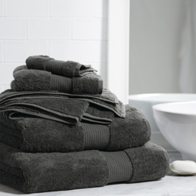 Egyptian Cotton Towels - Pewter