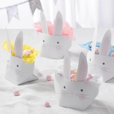 Foldable Bunny Basket - Set of 4