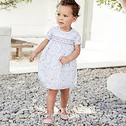 Elise Smocked Dress