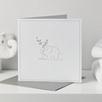 Elephant Gift Card - White