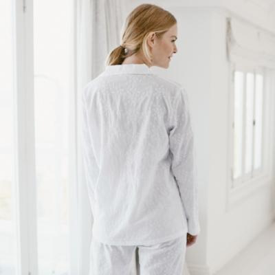 Embroidered Pyjama Shirt