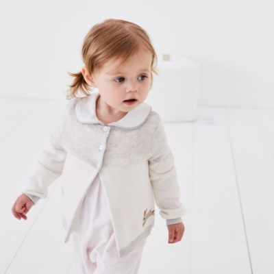 Embroidered Bunny Cardigan - The White Company