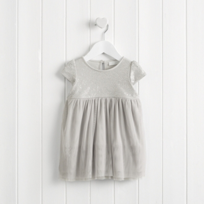 Encased Sequin Dress