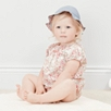 Esme Floral Smocked Bubble