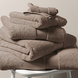 Egyptian Cotton Towels - Cappuccino